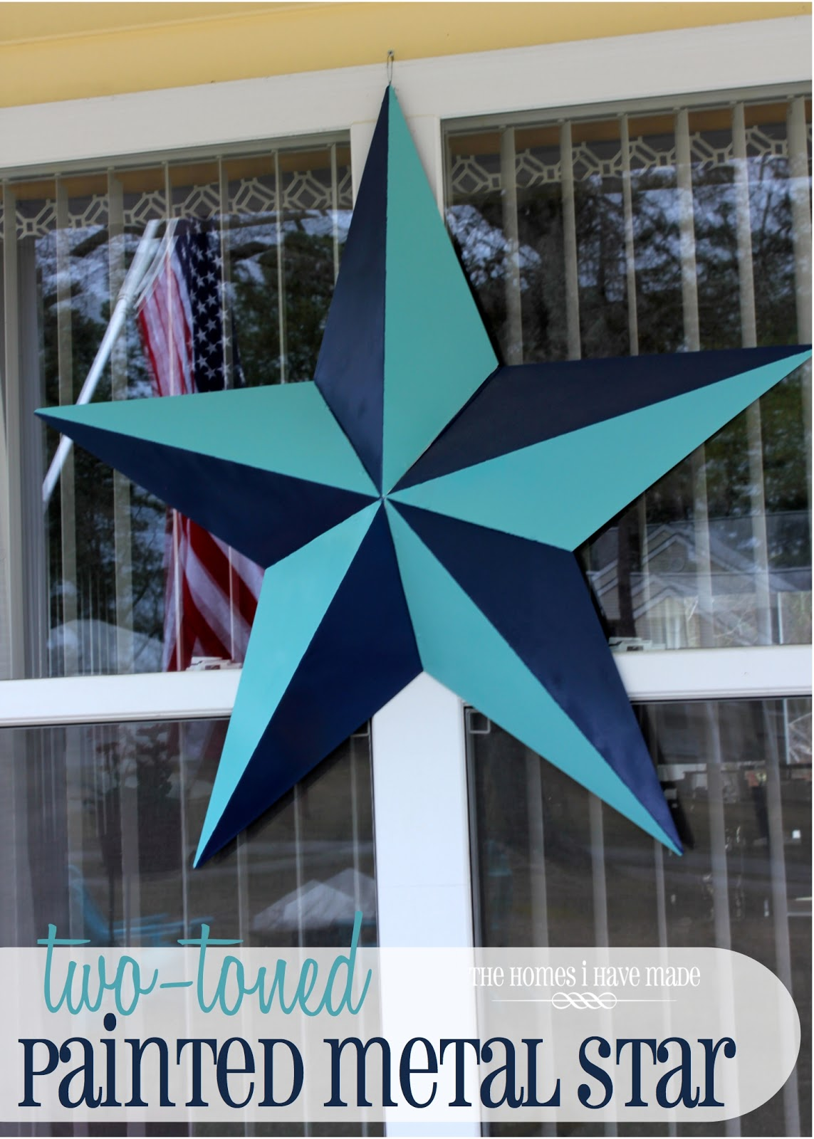 Two Toned Painted Metal Star Ps Guest Post Today The