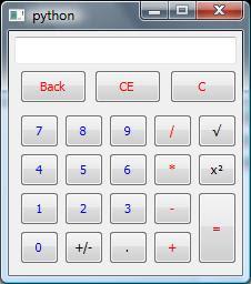 python gui calculator