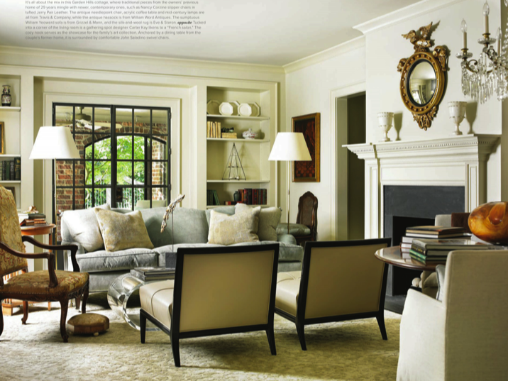 designers carter kay and nancy hooff designed this beautiful home
