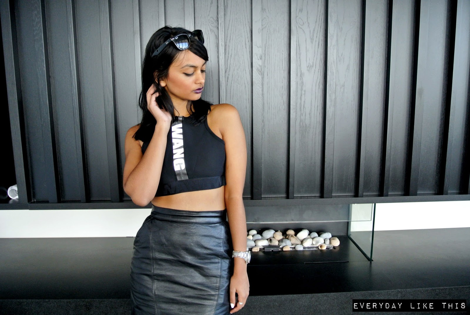 alexander wang h&m fashion blogger cropped tops ebay sale style everyday like this melbourne gpo