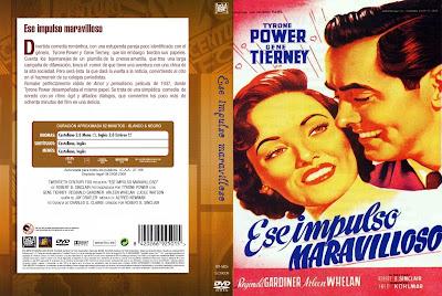 Ese impulso maravilloso | 1948 | That Wonderful Urge - Cover, dvd, caratula