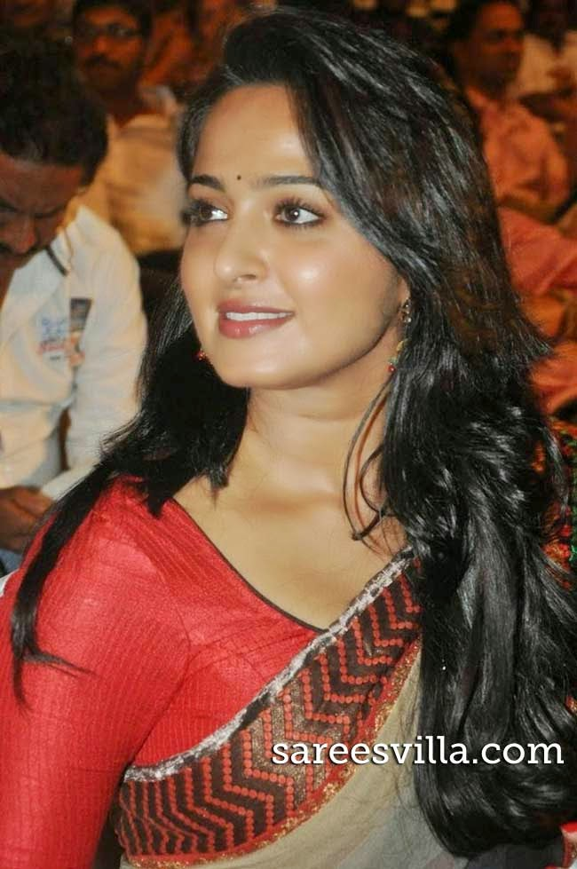 Actress Anushka Shetty in Saree