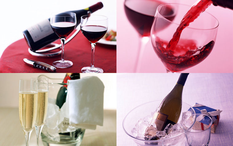Vinos de mesa - Table wines - Les vins de table