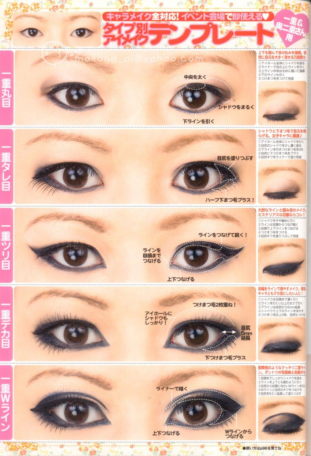 Смотреть макияж для узких глаз