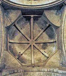 Bóveda catedral de Jaca