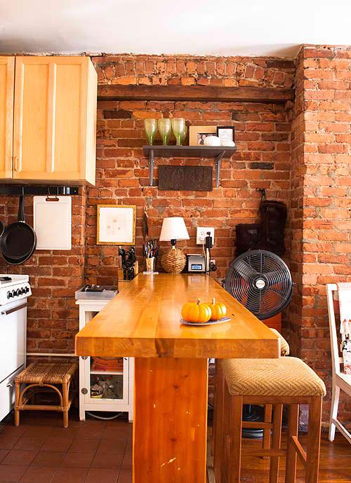 10 Kitchen Ideas Using Brick Walls Interior Design Ideas