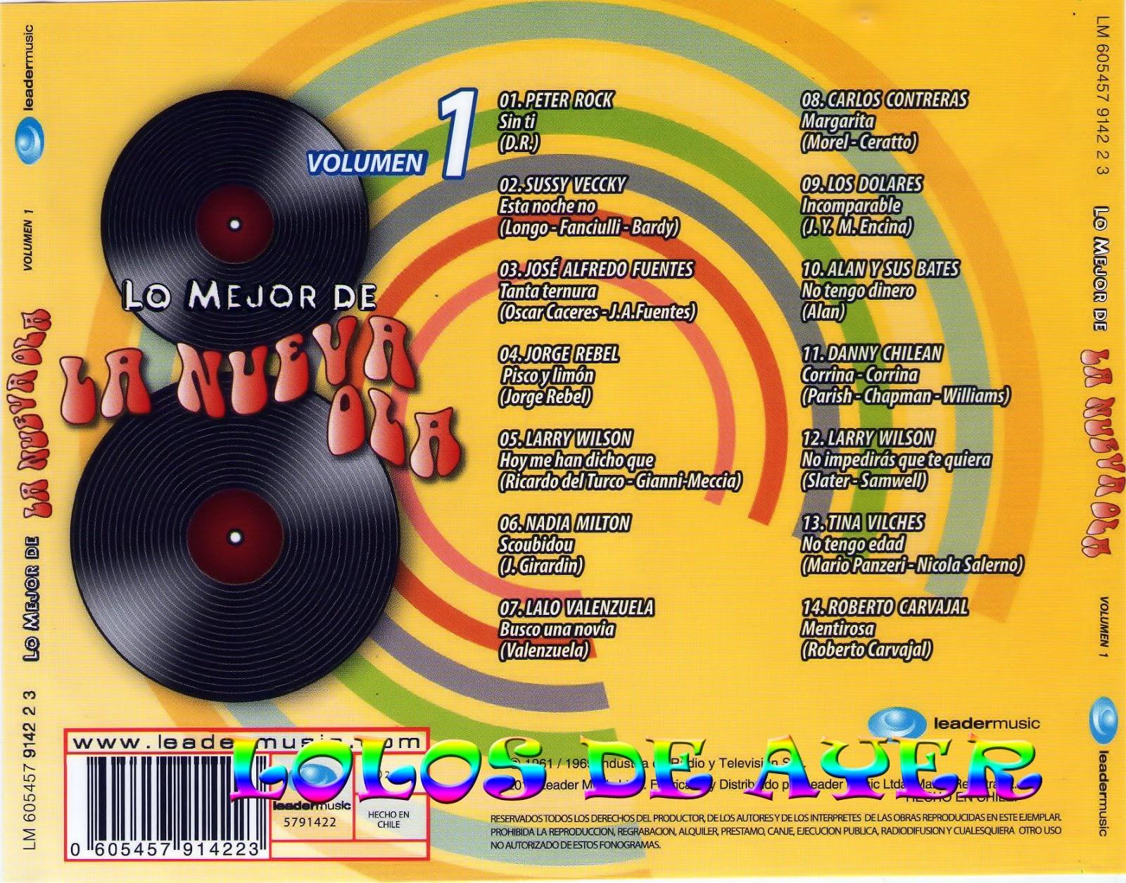 cd l nueva ola chilena ATRASCD1