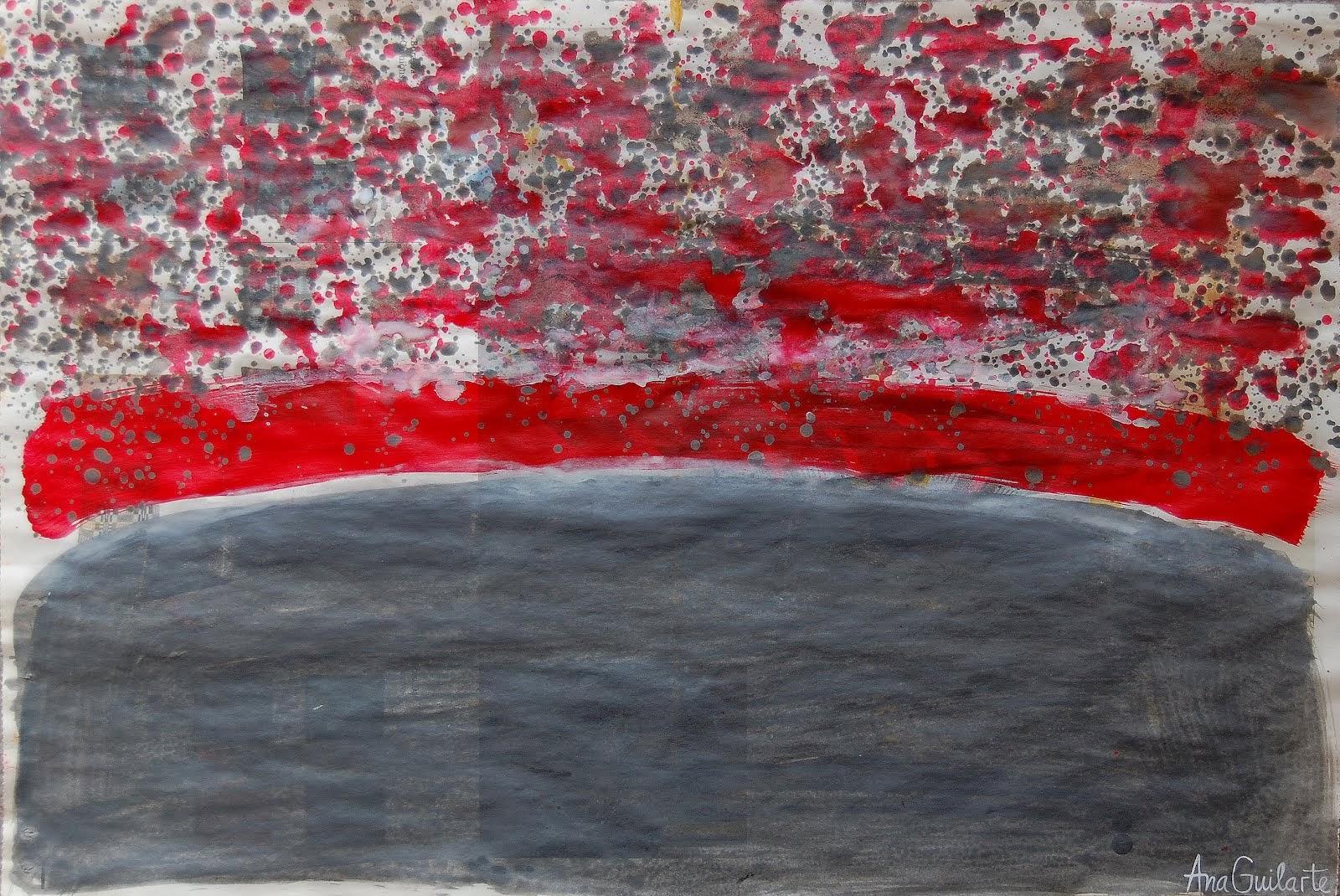 142. UNTITLED. Framed. 52x72cm. Sold/Vendido