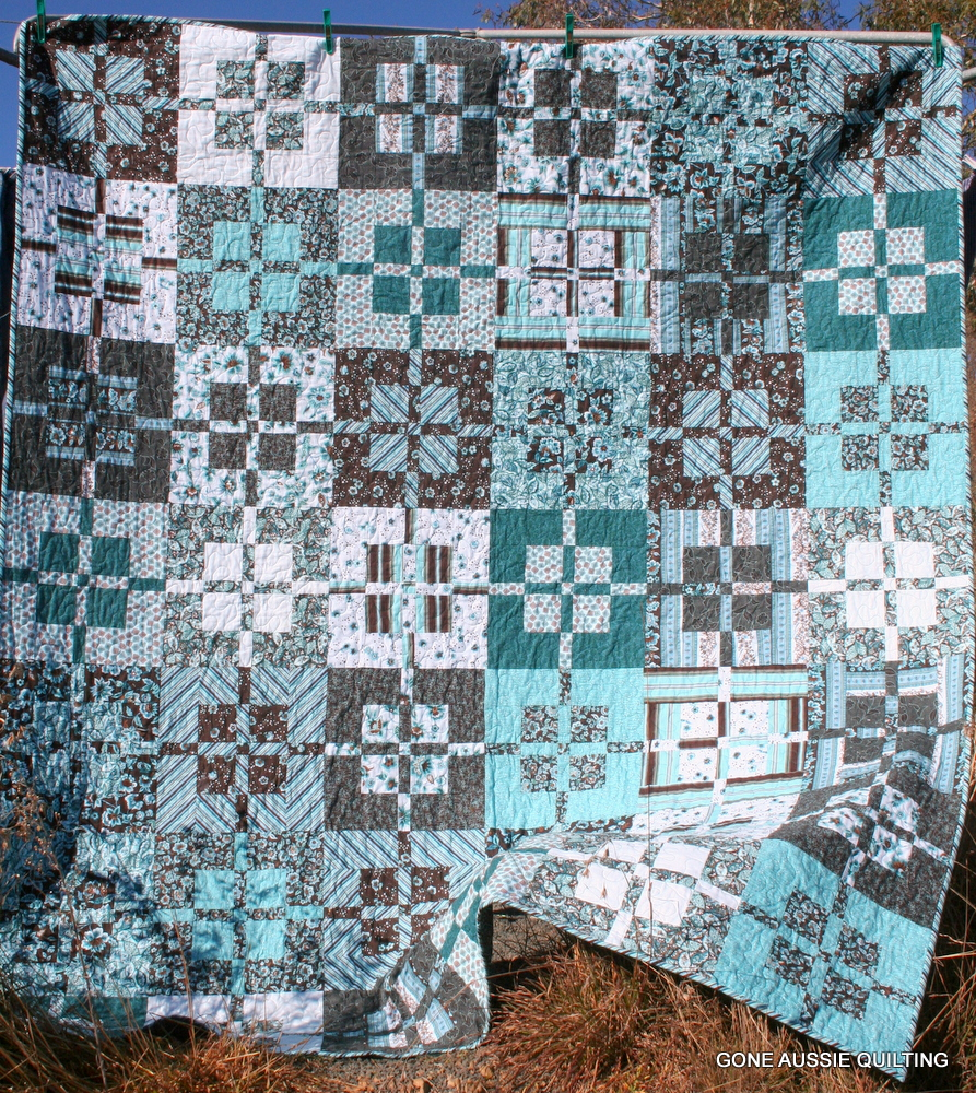 pokeytown kim and to squad blue quiltmaker reveal quilt scrap yellow countdown quilts quiltscountdown