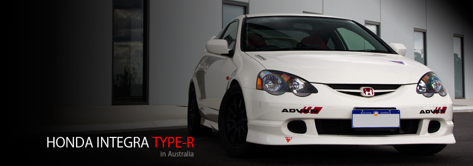 Honda Integra Type R (DC5) - in Australia