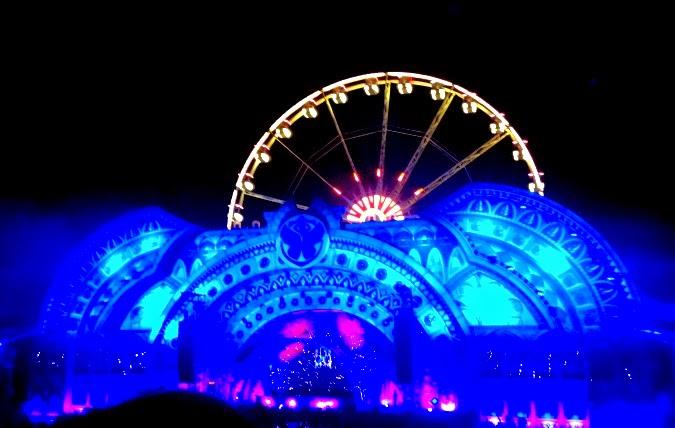 Tomorrowland Carl Cox Stage