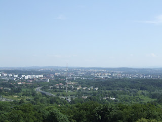 Panorama Krakowa