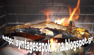 ρέγγα καψαλίζεται στη φωτιά http://syntagesapokatina.blogspot.gr