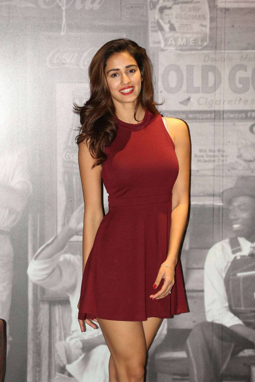 Disha Patani Stills At Lofer Movie Interview