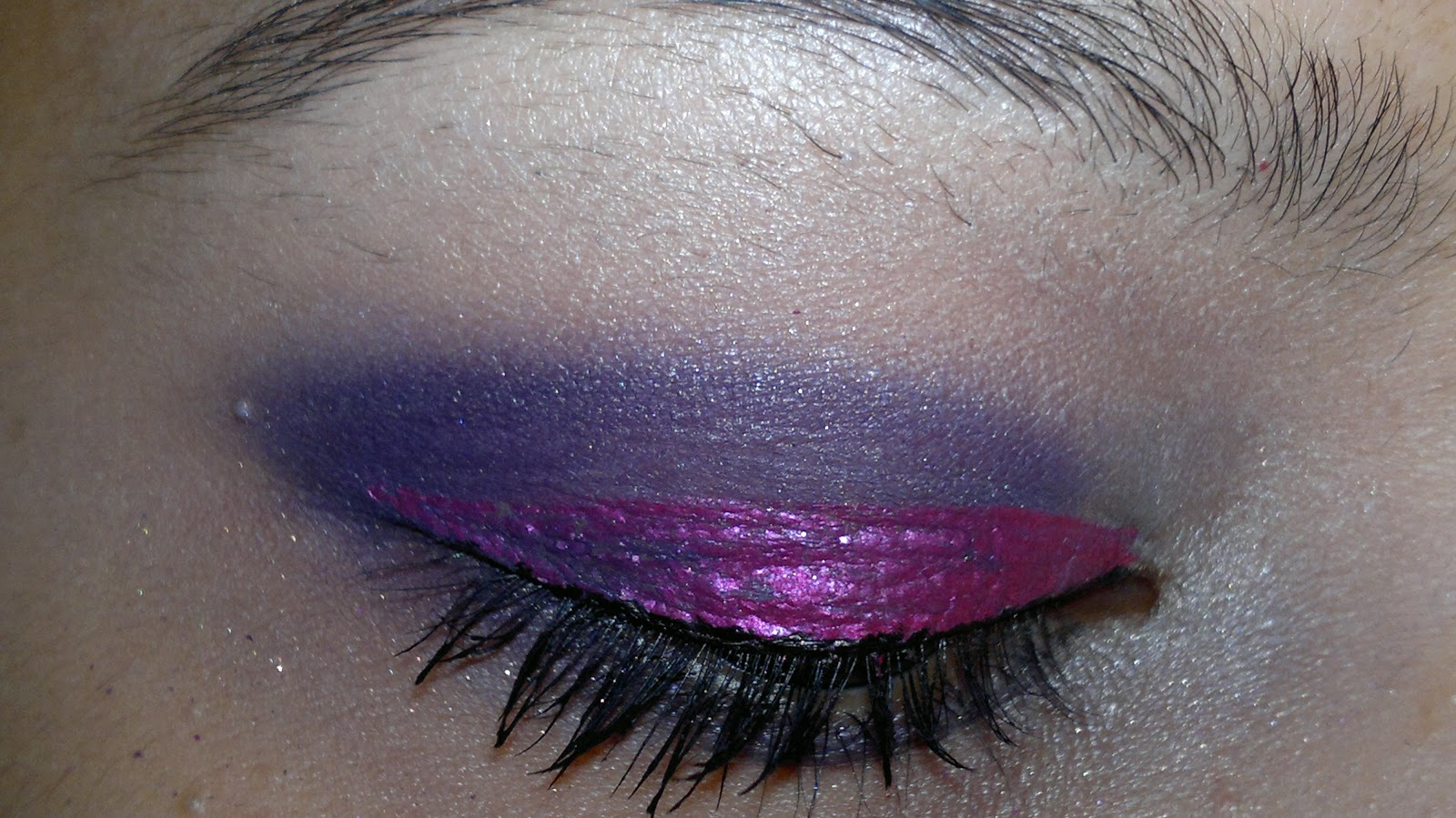 Arabic Eye Makeup Tutorial  Purple and Pink Eyes