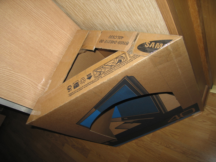 Коробка своими руками из картона фото