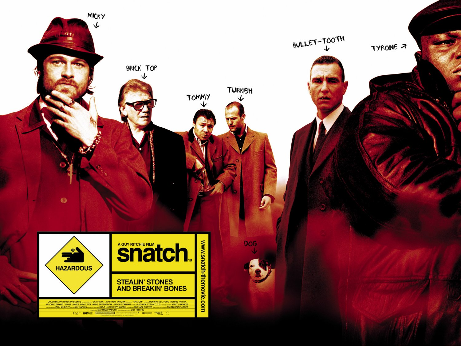 Snatch UK Quad Poster