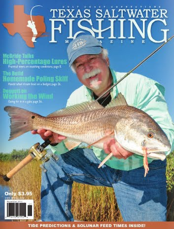 Contents contributed and discussions participated by karyn for Texas saltwater fishing magazine