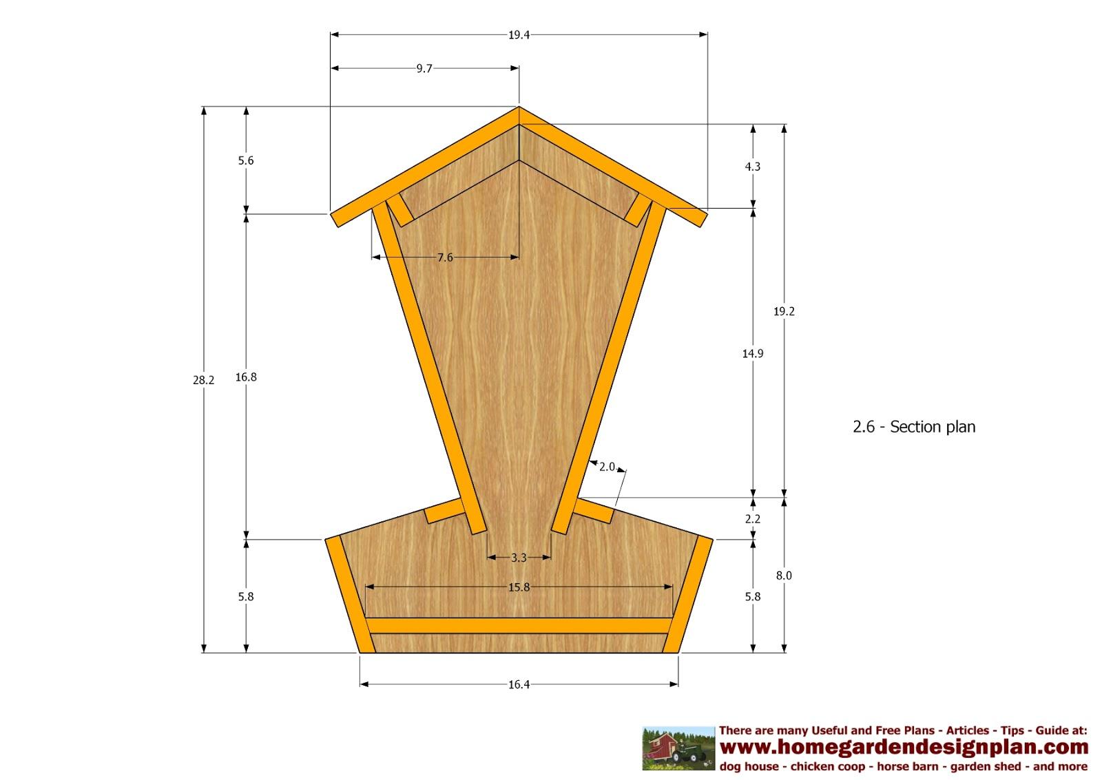 Home Garden Plans Cf101 Chicken Feeders Plans Chicken