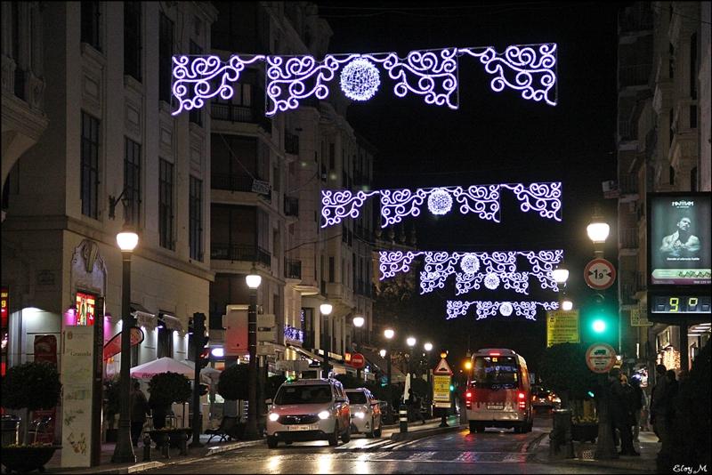 mirablog de granada luces de navidad en granada