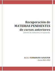 RECUPERACION DE PENDIENTES