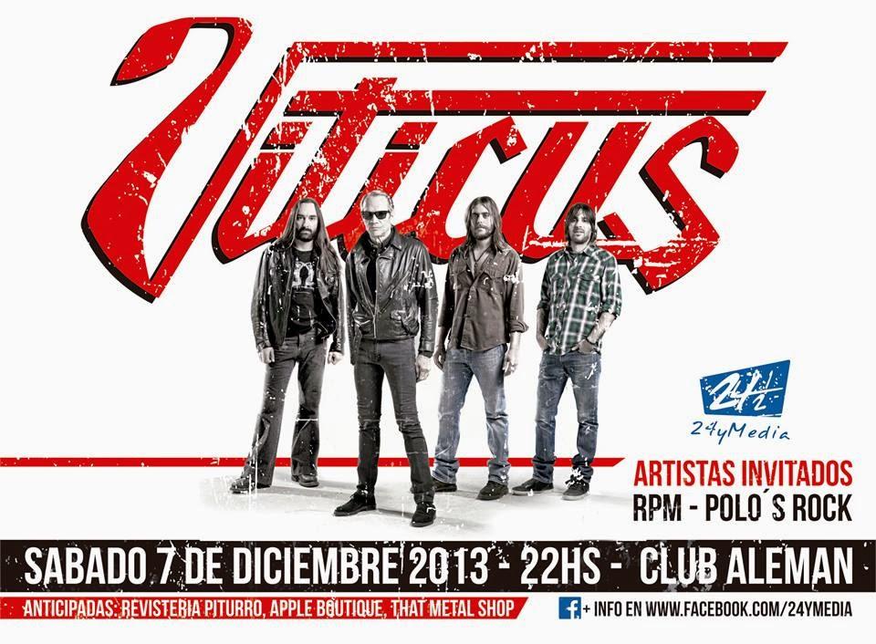 VITICUS EN POSADAS!! SABADO 7 DE DICIEMBRE 2013