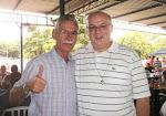 Padre Inácio no 1º Almoço Caipira no Recanto do Solar em Nova Odessa