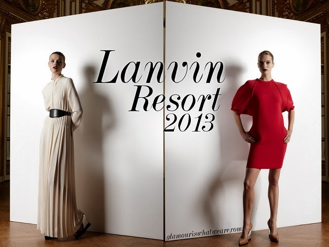 金馬撞衫 Same or Not:Lanvin 2013 Resort