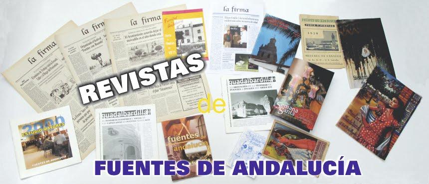REVISTAS DE FUENTES DE ANDALUCÍA