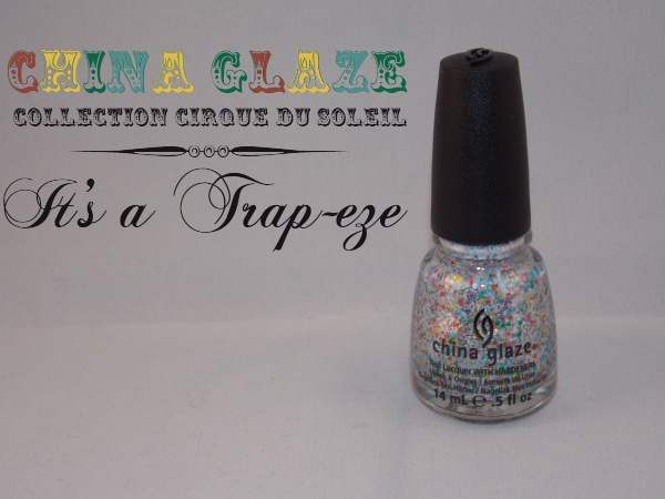 it's a trapeze, china glaze
