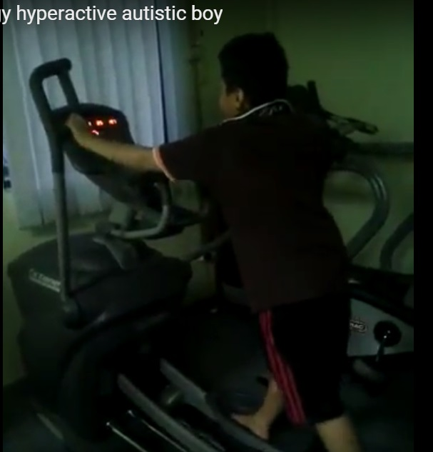 Iman at Gym Video