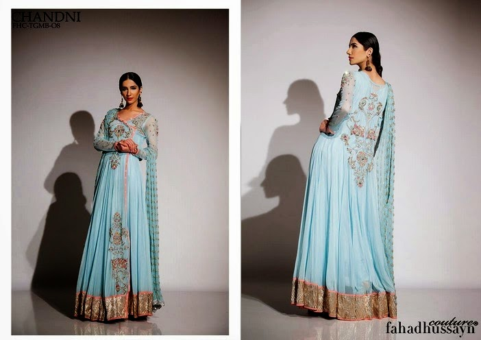 Chandni Bridal Angrakha Long Frock