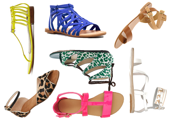 Summer sandals zara
