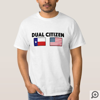 Dual Citizen: Texas/US T-Shirt
