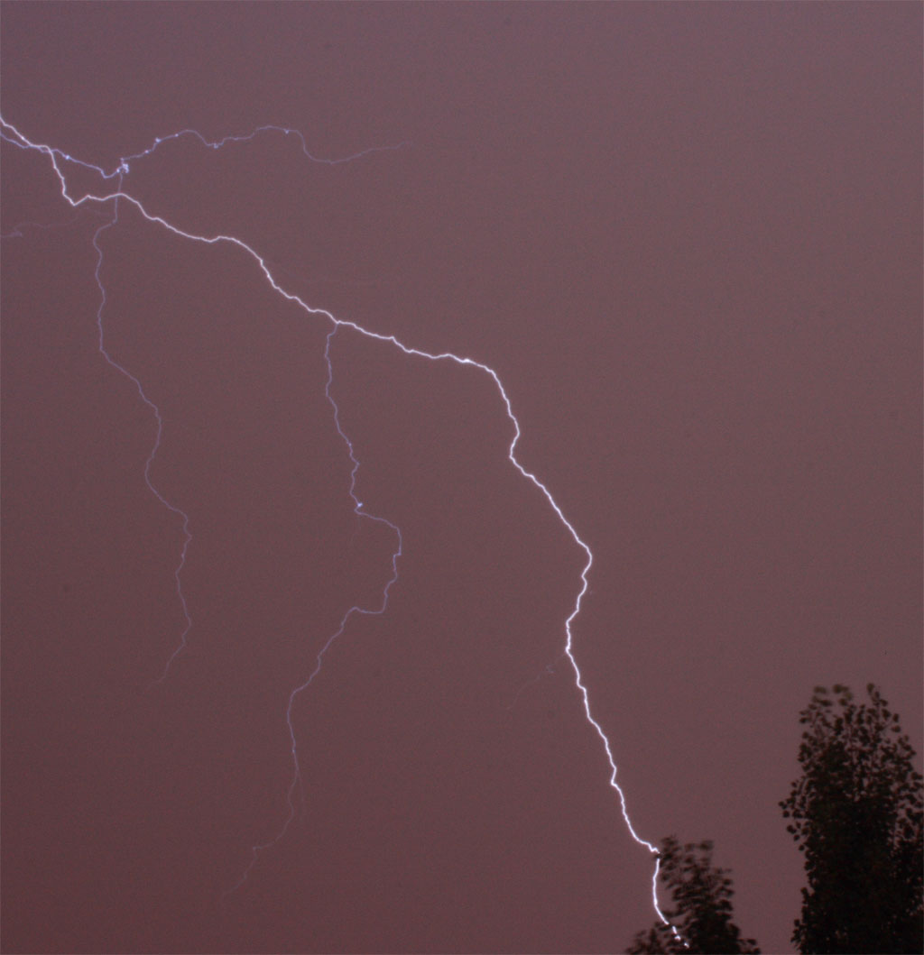 Lightning Colorado 12 July 2011 first