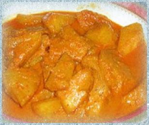 Sayur Pacri Nanas