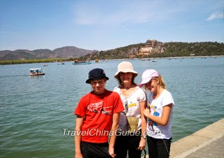 Tourists in Summer Palace