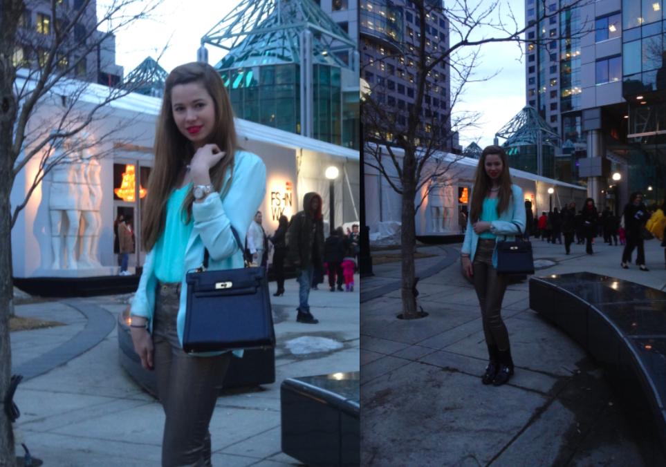 Caitlin Robinson, Caitie Robinson, Street Style, WMCFW