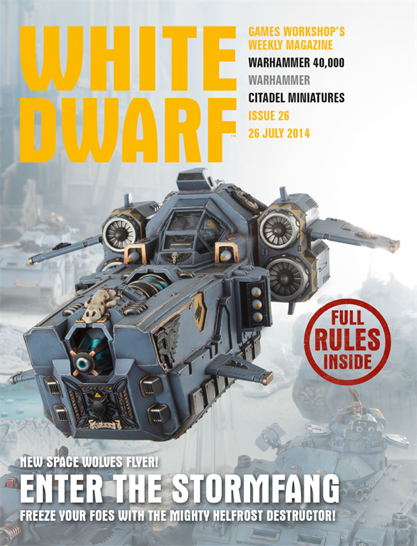 White Dwarf Weekly número 26 de julio