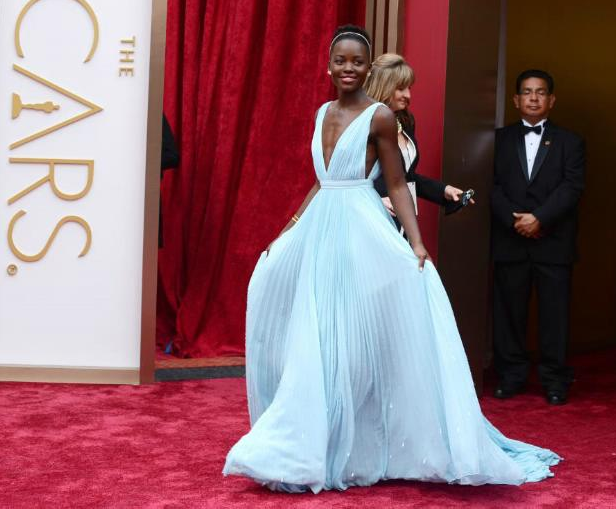 Transcript of Lupita Nyong'O Oscar Night Speech