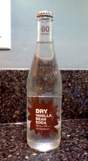 Dry Vanilla Bean Soda