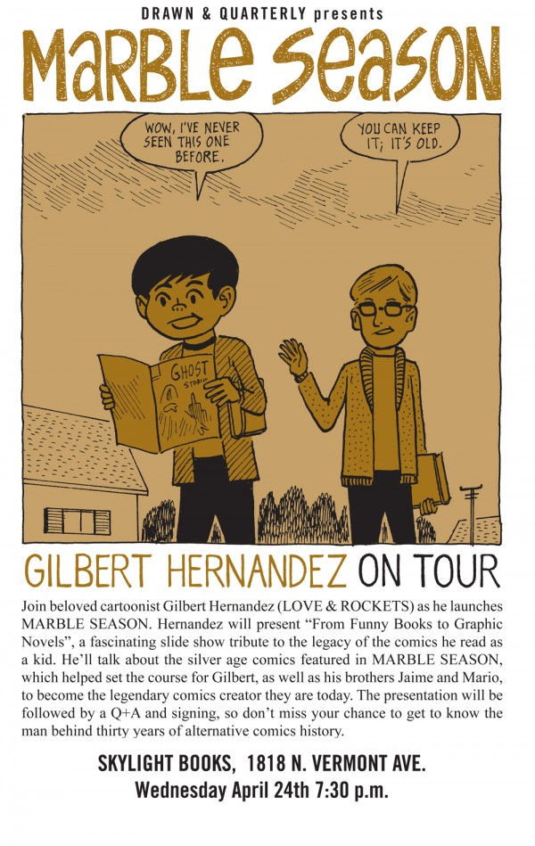 nerds of a feather flock together gilbert hernandez in