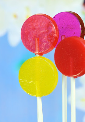 fruit flavored lollipops by This Charming Candy