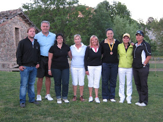 Foto Campionat Catalunya Femeni Pitch and Putt 2010