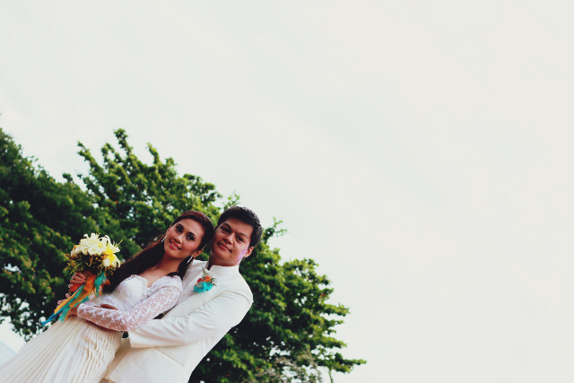 wedding at Bali-bali, Samal