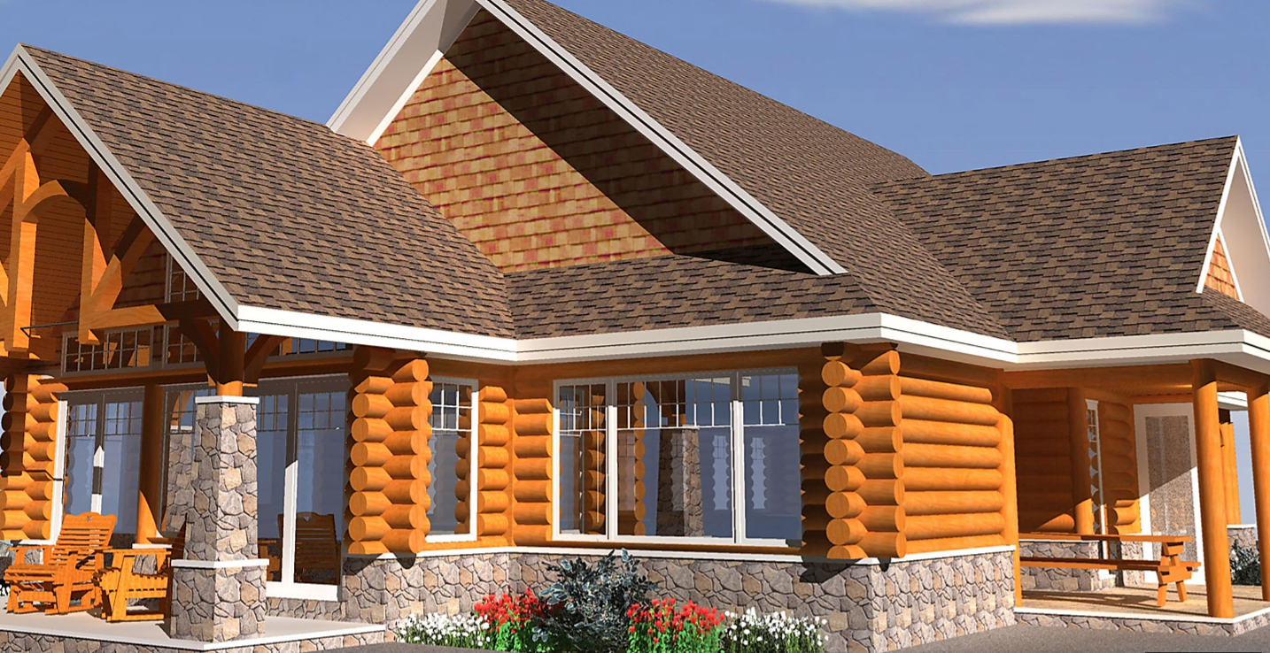 Wooden House Plans 3d Svm Houses