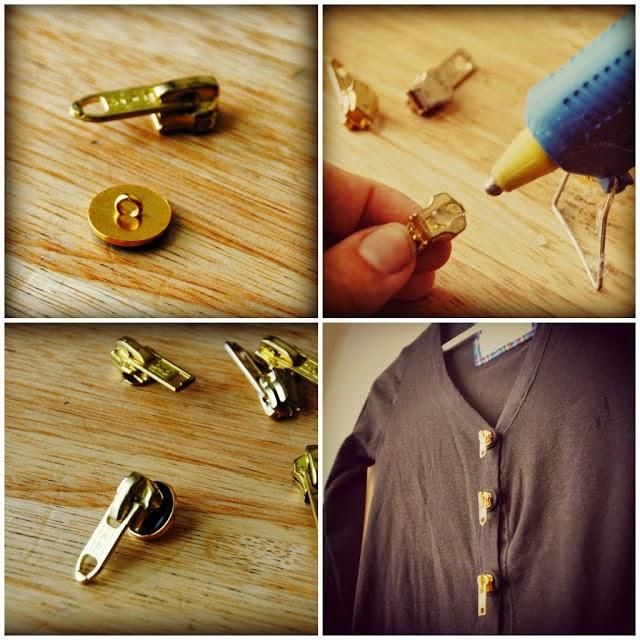 Cómo hacer botones con cremalleras en Recicla Inventa