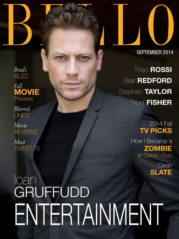 Ioan Gruffudd for Bello Magazine