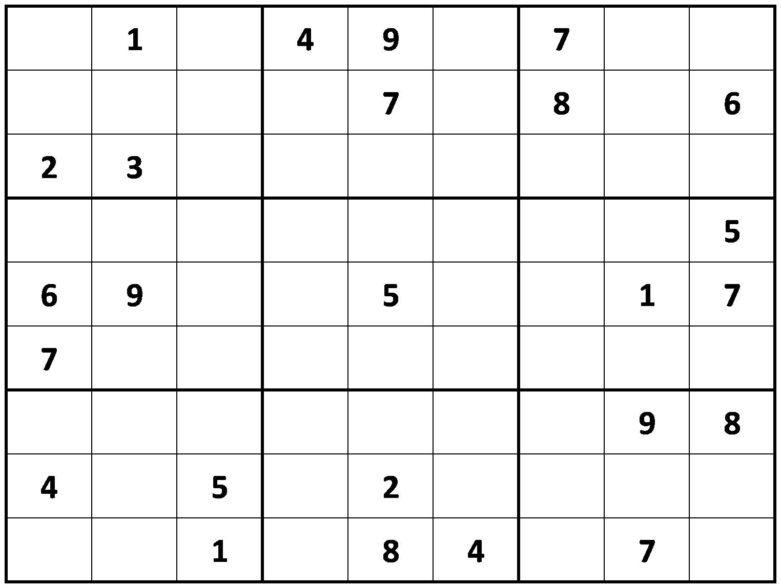 photograph relating to Mega Sudoku Printable identified as Regarding free of charge printable sudokuprintable sudoku ~ Tory Kosts