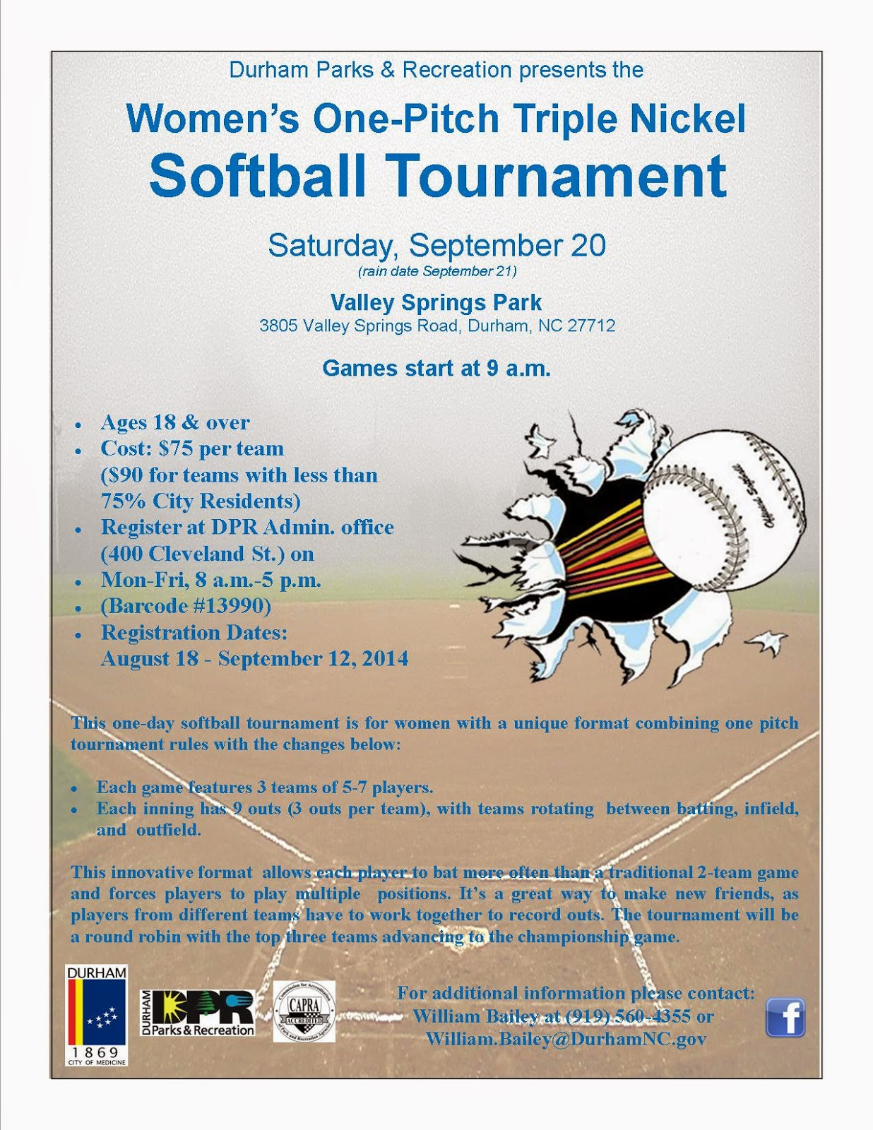get active women s softball tour nt durham parks and recreation is offering a fun and social tour nt for local area women interested in playing slow pitch softball this fall